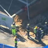 'It was quicksand': Frenzied attempts to save Perth worker