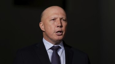 Home Affairs Minister Peter Dutton tested positive for the coronavirus after attending a Liberal Party fundraiser last week.