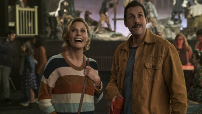 Adam Sandler's latest Netflix film laughs all the way to the bank