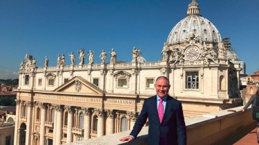 EPA Director Scott Pruitt pictured in Rome in June 2017.