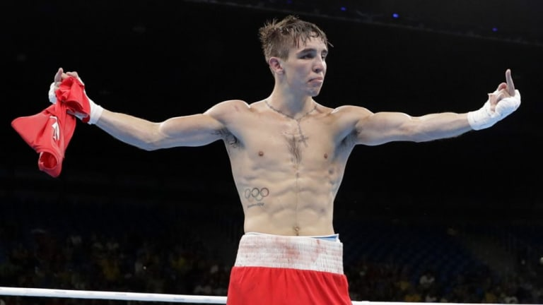 Fuming: Ireland's Michael Conlan, a contentious loser, became the poster boy as controversy plagued the Rio boxing ring.