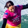 Sally Fitzgibbons all but wipes out of WSL world title race