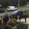 NBA star Andrew Bogut live tweets police drugs raid in Carrum Downs