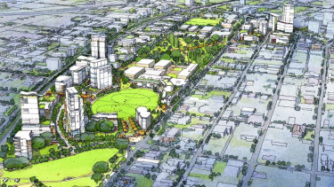 The Subi East development will include significant infills of higher density housing.