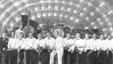 Frank Coughlan's Band at the Sydney Trocadero in 1938.