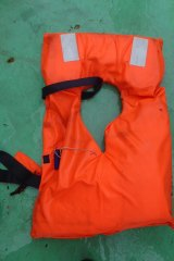 A life jacket was found in the search for survivors of the maritime accident.
