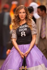 Sarah Jessica Parker as Carrie Bradshaw in the film 'Sex and the City 2'.