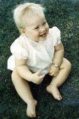 Murdered toddler Deidre Kennedy.