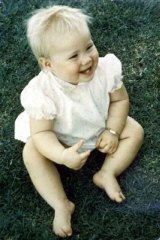 Murdered toddler Deidre Kennedy.