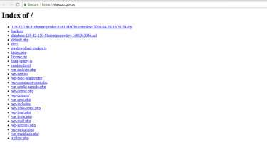 """The website was unavailable for several hours on Tuesday evening due to a """"misconfiguration""""."""