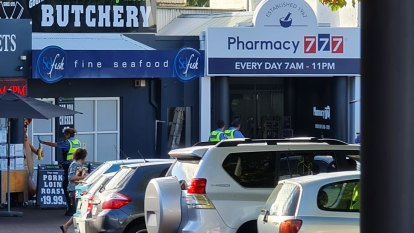 Police charge man following four-hour siege at Perth pharmacy