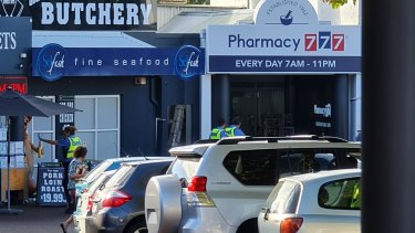 Pharmacy 777 Applecross was the target of an armed robbery on Thursday.