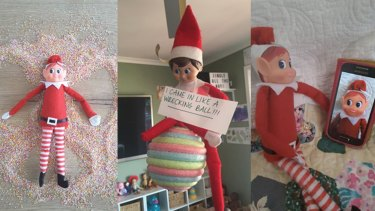 It can be exhausting to come up 25 days of creative ideas for The Elf on the Shelf.