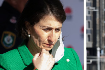 Tense times for Premier Gladys Berejiklian as her health team tries to contain a COVID-19 outbreak in Sydney.