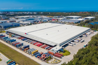 Charter Hall distribution centre in Lytton, Brisbane leased by Kmart.