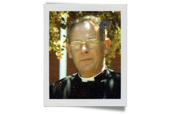 Father Ron Pickering, who admonished a boy who told another priest in the confessional that he was being abused.