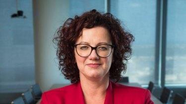 Australian Institute of Superannuation Trustees chief executive Eva Scheerlinck.