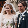 Princess Beatrice's vintage wedding dress a nod to the Queen