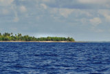 Climate change crisis: much of the Kirabati archipelago is not more than a few metres above sea level.