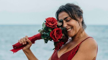 Candela Pena plays a woman fed up with running after others in Rosa's Wedding.