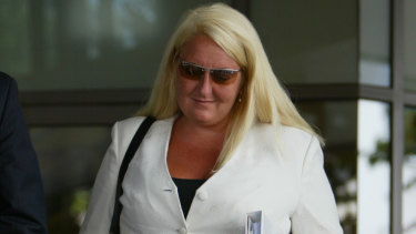 Nicola Gobbo at Melbourne Magistrates Court in 2005.