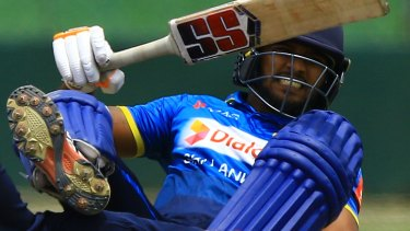 Shehan Madushanka played multiple limited-overs fixtures for Sri Lanka earlier this year.
