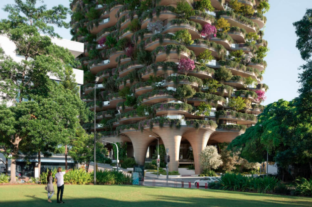 The 30-storey tower has been named 'The Urban Forest'.