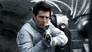 Tom Cruise in Oblivion.