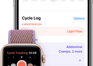 Cycle, Apple's new period tracking app, avoids some but not all of the usual pitfalls of the genre.
