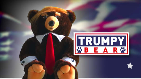 American mystery: Trumpy Bear's second coming has everyone intrigued