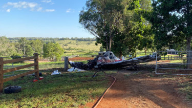 Another pilot escaped serious injury after an earlier crash-landing in the South Burnett.