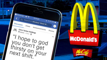 McDonald's workers have been warned they wouldn't be able to take toilet breaks if they demanded their paid rest breaks.