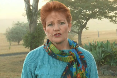 Pauline Hanson has revealed she will not support the Coalition's proposed $158b income tax cuts plan in full.
