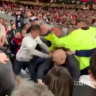 Man United, Leeds match marred by streaker, viral fan brawl