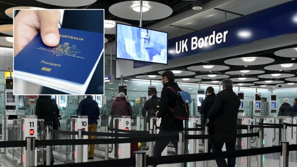 Australians will be able to use e-passports in UK