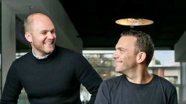 Jason Wilby and Jonathan Buck, co-founders of Huddle Money and Open.