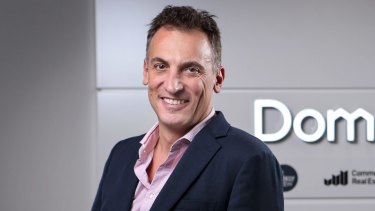Former Domain chief executive Antony Catalano is due to welcome his ninth child later this year.