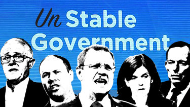The Liberal's catch cry of a stable government is being used against it, as the party flounders towards an election.