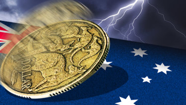 The OECD warned the Australian economy has fallen into a ''per-capita recession'' for the first time since 2006.