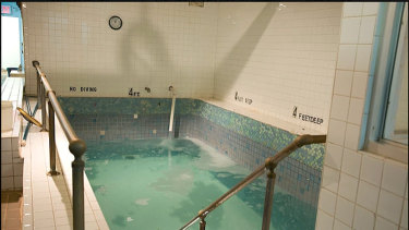 The ice-cold plunge pool and Turkish Room.
