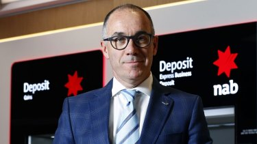 Andrew Thorburn, chief executive officer of National Australia Bank.