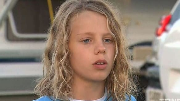 Boy saved by snorkel after being buried alive on beach