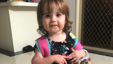 Three-year-old Charlotte Smithers, who was struck and killed in the car park of a childcare centre, has been remembered as a 'beautiful princess'.