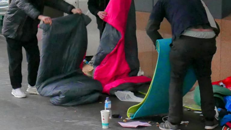 Many young people with a mental illness are sleeping rough in Melbourne.