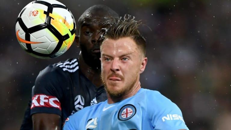 Melbourne City's new skipper Scott Jamieson.