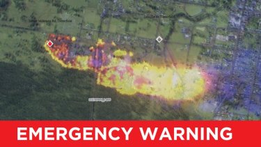 The RFS issued an emergency warning on September 6, 2019 for residents in Mount Mackenzie Road, Tenterfield.