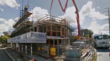 A man has died following a worksite altercation in Mount Lawley.