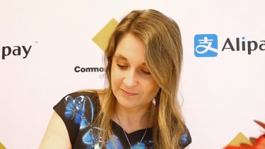 Former CBA executive Kelly Bayer Rosmarin.