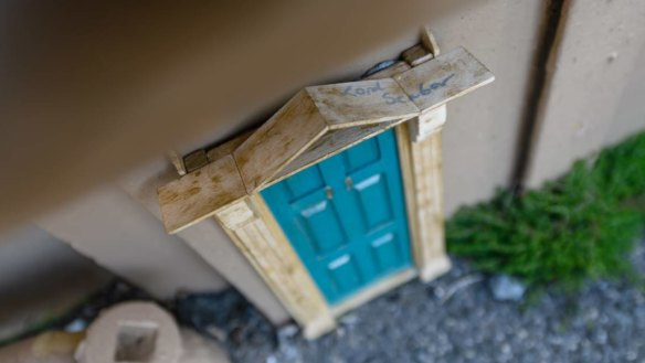 'We like them': Miniature mystery behind Tassie's flush of tiny doors