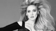 Adele is the cover model for two editions of Vogue magazine.